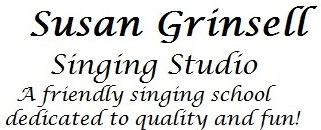 Susan Grinsell Singing Studio