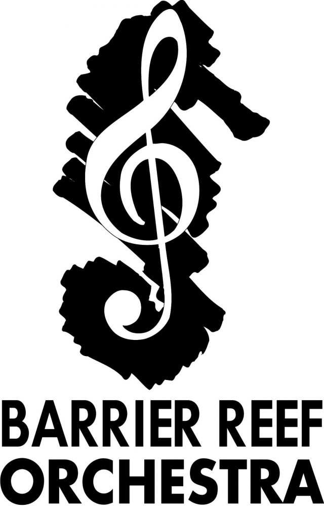 Barrier Reef Orchestra with title
