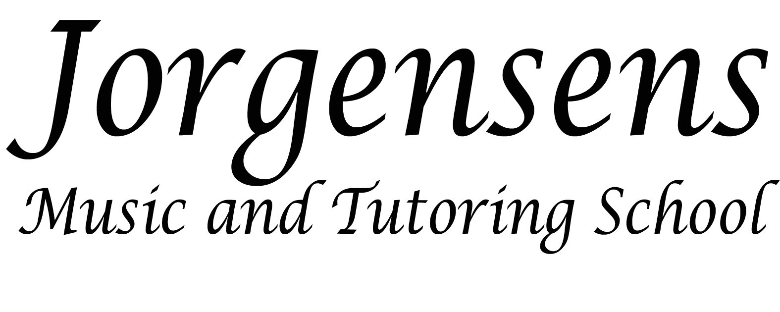Sponsored by Jorgensens Music and Tutoring School