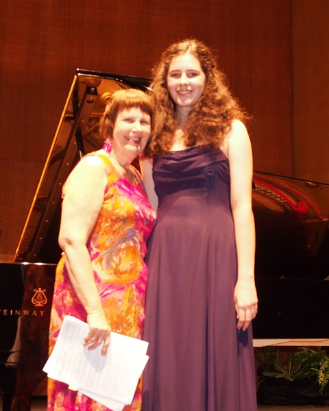 Jacalyn Adcock, Townsville | Accompanist Maryleigh Hand Arties Music Encouragement Award
