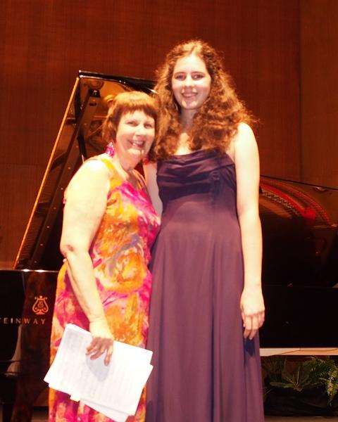 Jacalyn Adcock, Townsville | Accompanist Maryleigh Hand Arties Music Encouragement Award