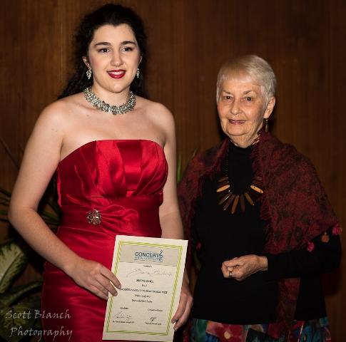 2nd Bianca Bacchiella, Ingham