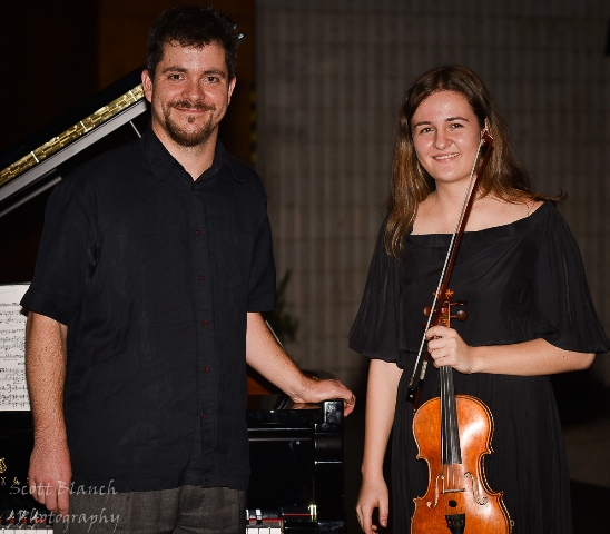 2nd - Lara Mladjen, Melbourne with accompanist Rhodri Clarke