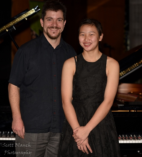 3rd - Nina Fan, Gold Coast with accompanist Rhodri Clarke