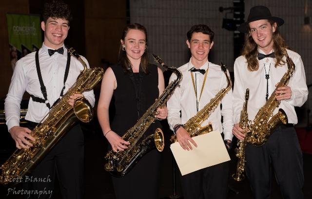 1st - Pimlico SHS Sax Quartet