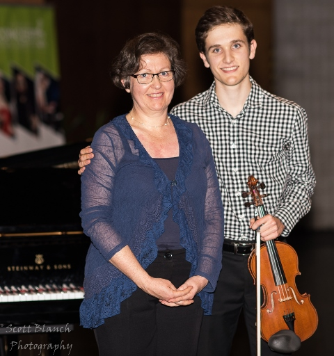 Highly Commended - Johnny van Gend, Brisbane with accompanist Jane van Gend