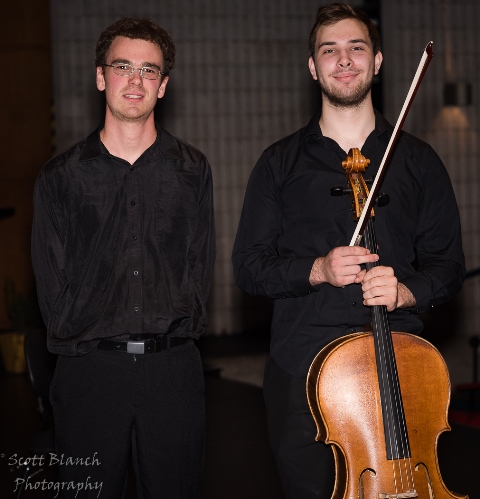 3rd - Ariel Volovelsky, Sydney with accompanist Robert Manley