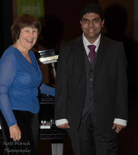 Gautam Abhyankar, Townsville with accompanist Maryleigh Hand