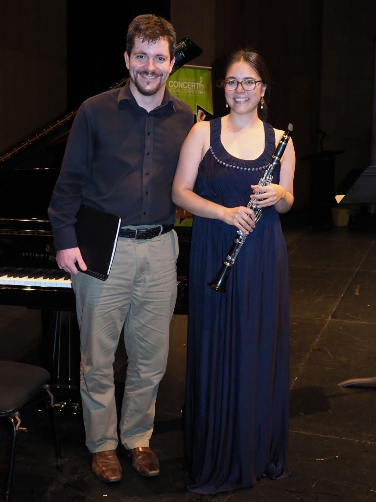 Georgina Oakes, Sydney with accompanist Rhodri Clarki