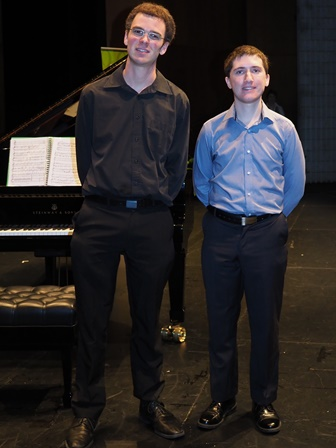 Jorden Shamir, Townsville with accompanist Robert Manley