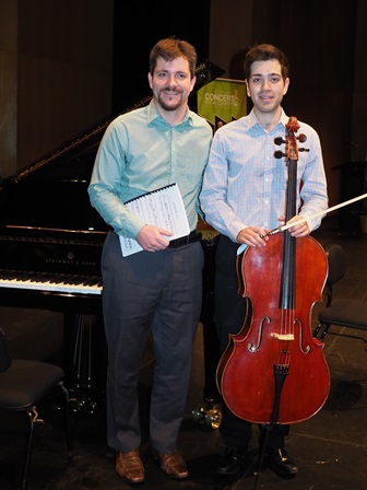 Joshua Dema, Melbourne with accompanist Rhodri Clarki