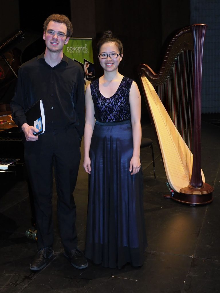 Linley Chai, Brisbane with accompanist Robert Manley