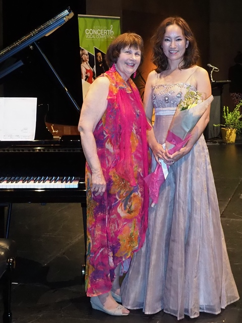 3rd - Rosa Zardus, Brisbane with accompanist Maryleigh Hand