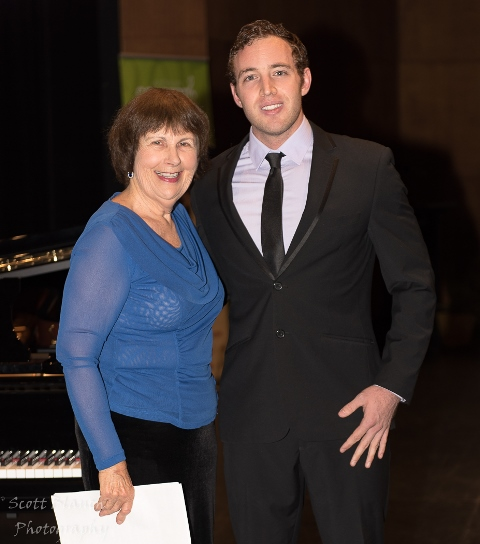 Peter Carmen, Townsville with accompanist Maryleigh Hand