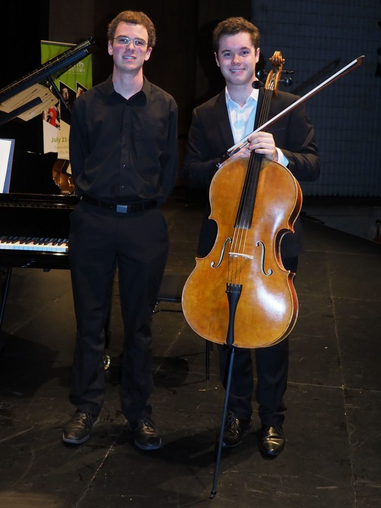 Sam Lucas, Montville with accompanist Robert Manley