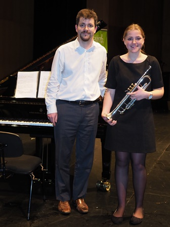 Sophie Spencer, Sydney with accompanist Rhodri Clarki