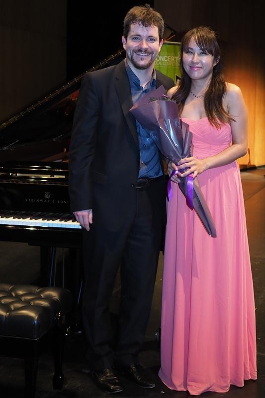 3rd Chiacheng Sen, Irvine, CA with accompanist Rhodri Clarke