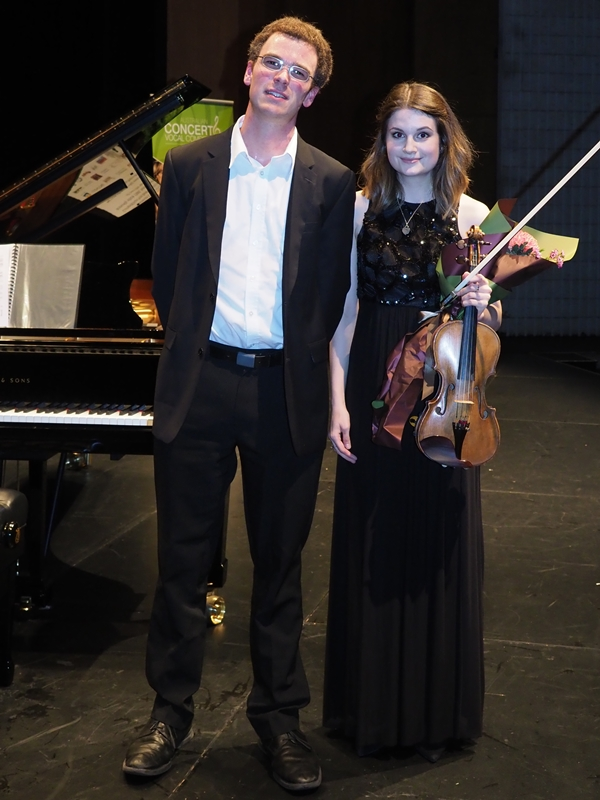 2nd - Courtney Cleary, London UK with accompanist Robert Manley