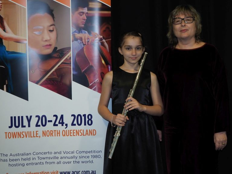 3rd - Elizabeth Russell Singapore with accompanist Larisa Tupitsyna