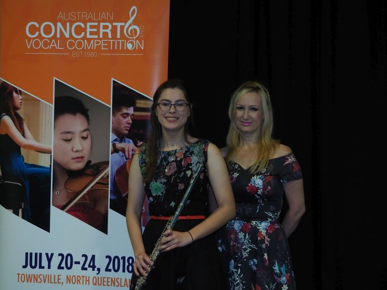 Jessica Aslin, Townsville with accompanist Maxine Newman