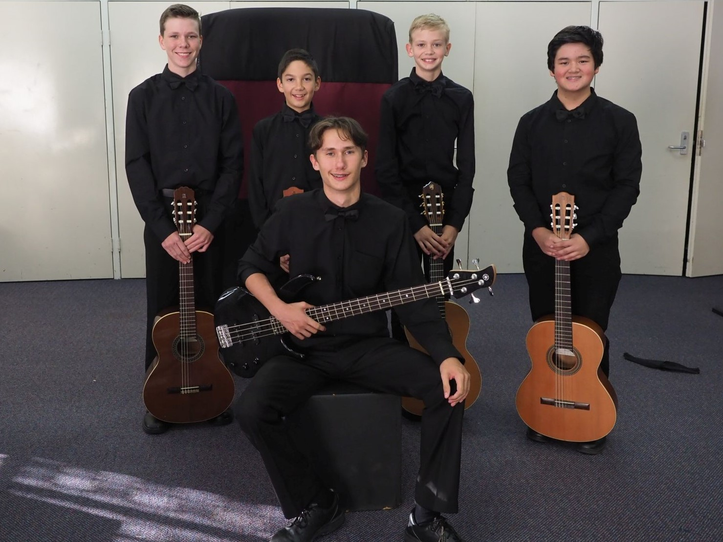 1st – Los Guitarristas, McCluskey Home Studio Students