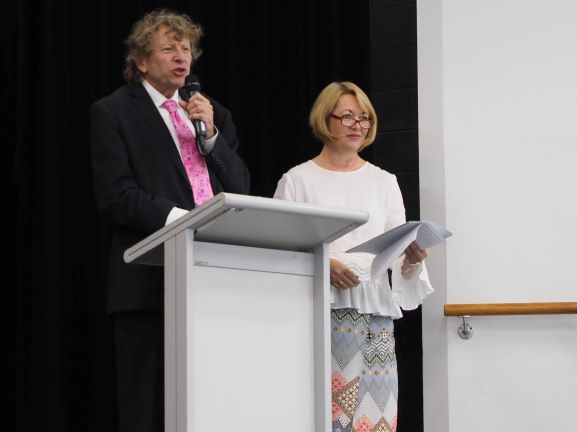 Piers Lane, Adjudicator with Sue Darrigan