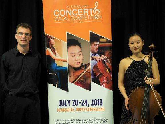 Finalist - Raechel Suh, Brisbane - Most Promising Strings AUSTA (Nth Qld Branch) Award