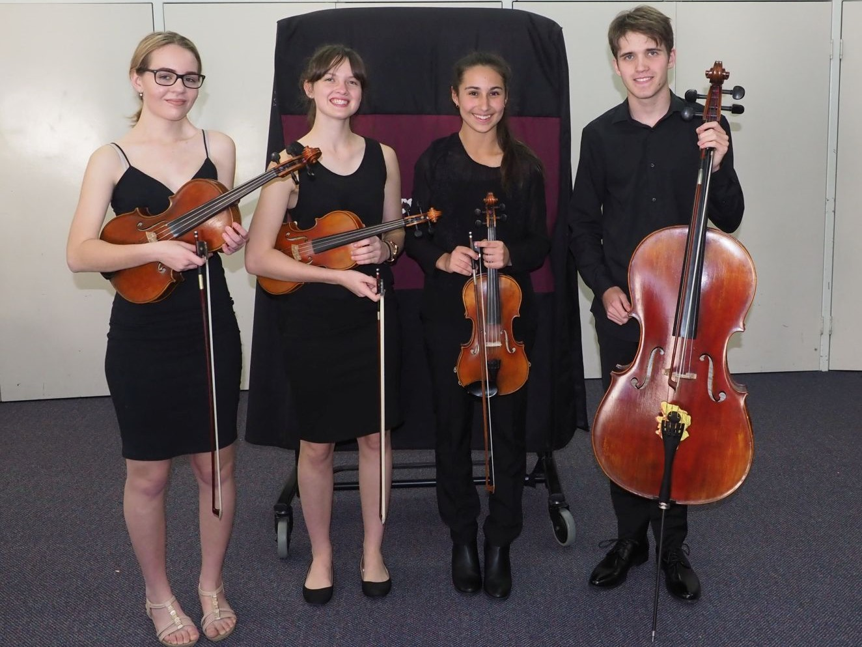3rd – Schubert Quartet Pimlico State High School & Townsville Grammar School (also winner of Australian Festival of Chamber Music Junior Winterschool Award)