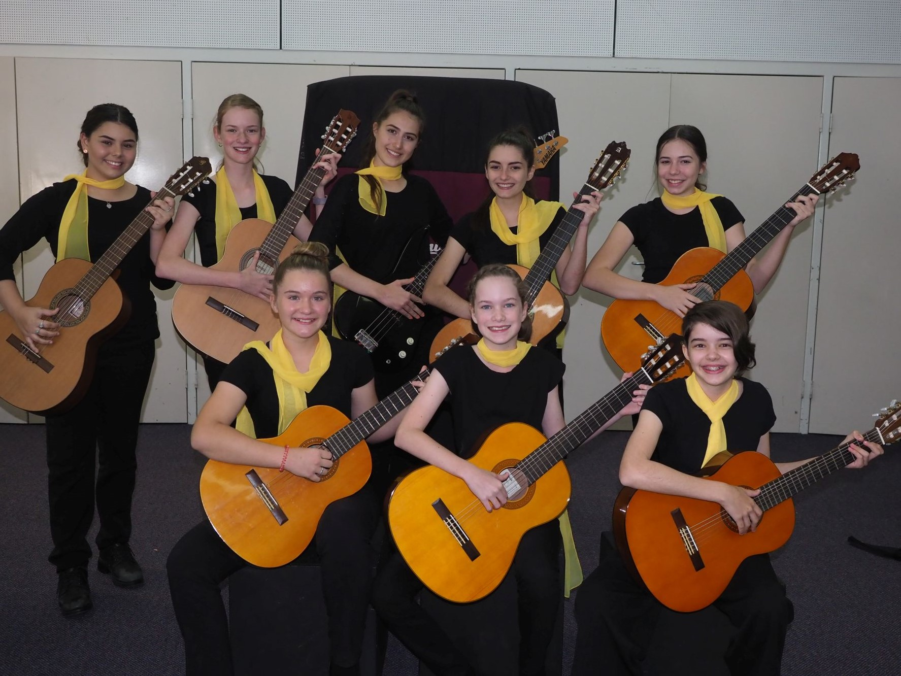 2nd – St Margaret Mary's Guitar Ensemble