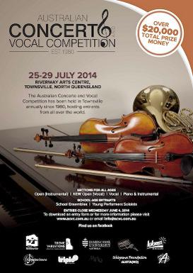 Australian Concerto Vocal Competition Feature