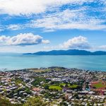 View to Magnetic Island from Castle Hill, Townsville