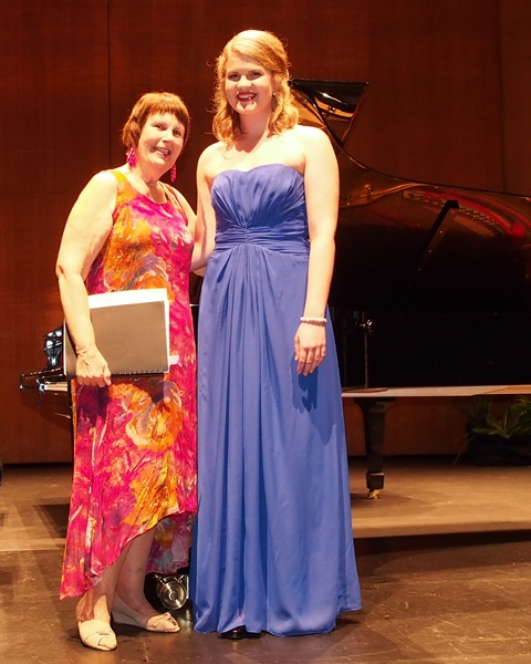 1st - Cassandra Wright, Brisbane | Accompanist: Maryleigh Hand