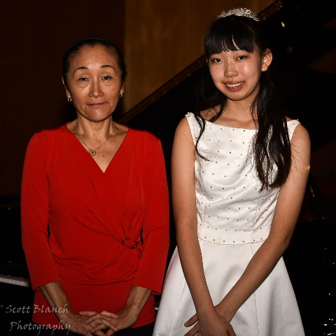 Highly Commended - Yuina Akamatsu, Cairns with accompanist Koko Julian