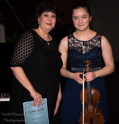 Highly Commended - Amy Huang, Sydney with accompanist Sorina Zamfir