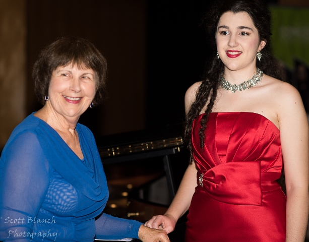 Bianca Bacchiella with accompanist Maryleigh Hand