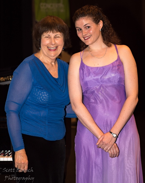 Charmaine Roberts, Townsville with accompanist Maryleigh Hand