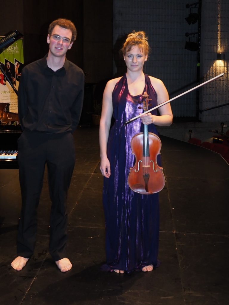 Katie McKay, Perth with accompanist Robert Manley