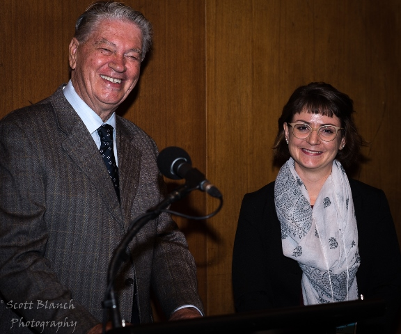 President Cris Dall'Osto & Artistic Director Katy Frewen-Lord