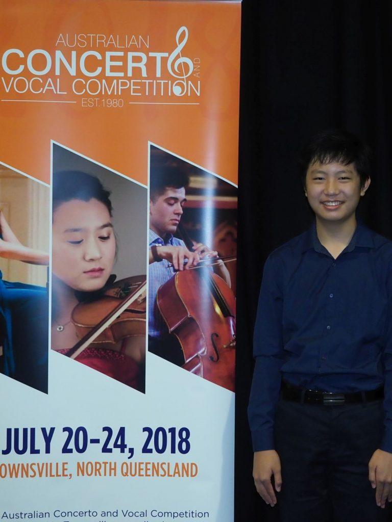 3rd - Reuben Tsang, Cairns (Piano)