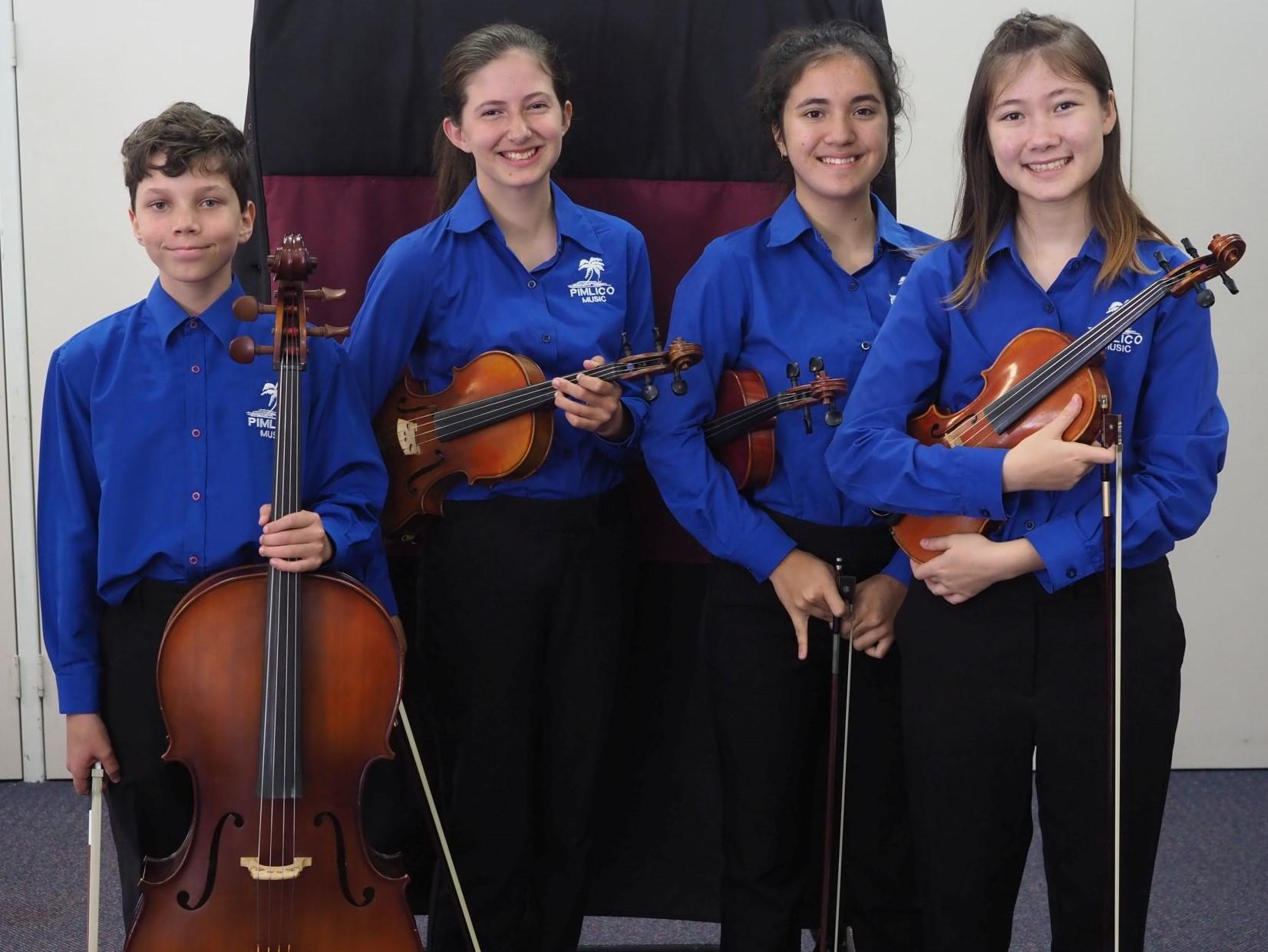 4th – Amadeus Quartet Pimlico State High School  & Townsville Grammar School