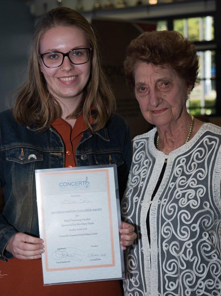 Alison Paris, Brisbane - Highly Commended