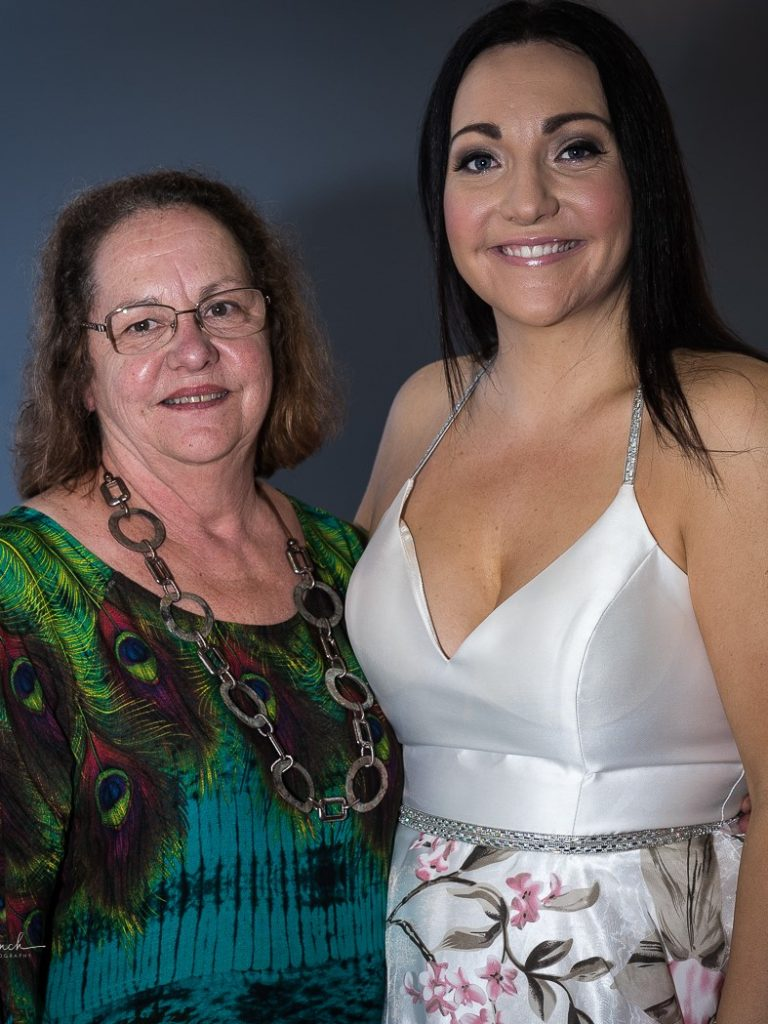 Rebecca Cassidy - Audience Choice Award with Sponsor Susan Grinsell