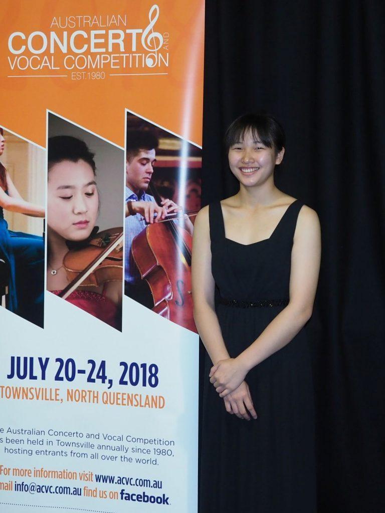 Nina Fan, Gold Coast (Piano) -Arties Music Encouragement-Award