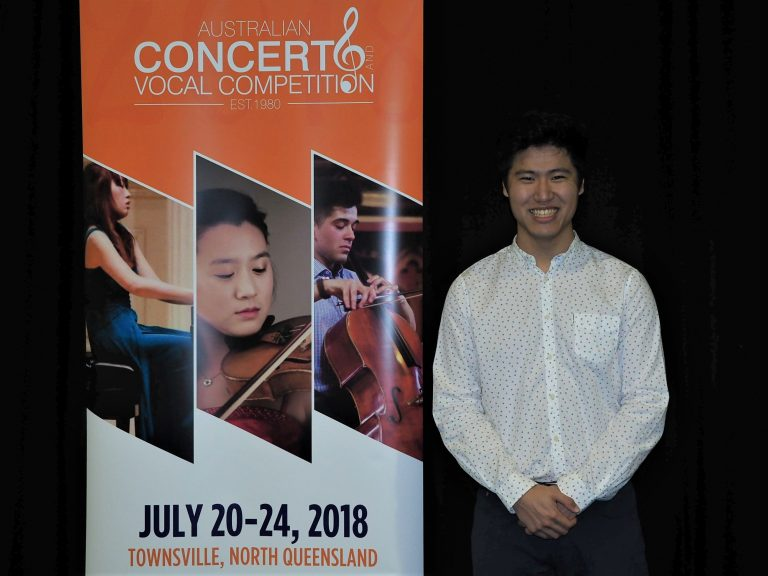 Andrew Fong, Townsville (Clarinet) - Most Outstanding Musician from Nth Qld Joy Rutledge Award