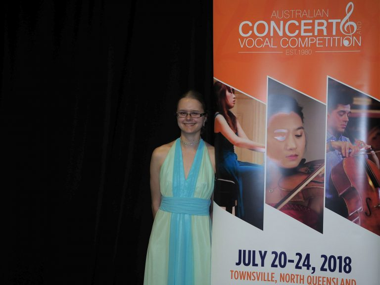 Finalist - Crystal Smith, Tomewin (Piano) - Most Promising Pianist Frank Carroll Memorial Award